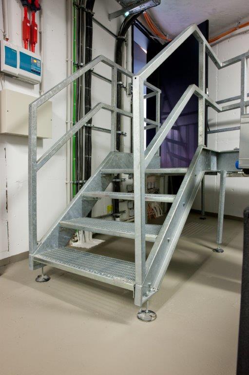 stahltreppe fur innen und aussen designs, treppen & geländer - hinrichs metall- & fahrzeugbau, Design ideen
